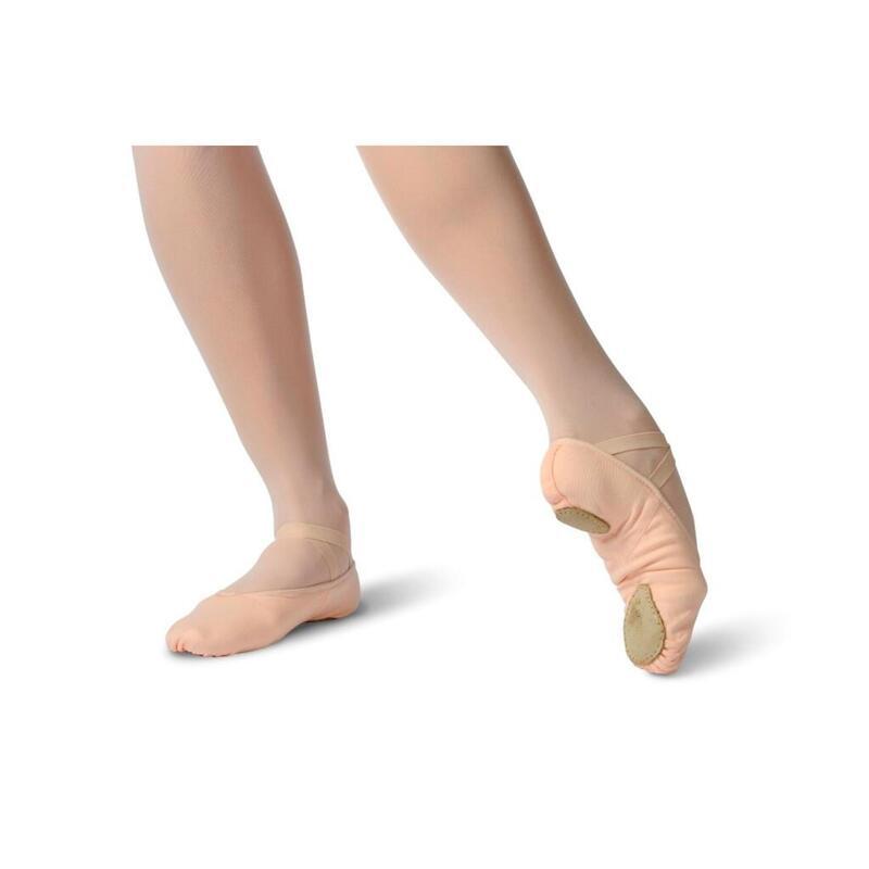 """SCARLETT - Demi-pointe danse en toile """"seconde peau"""""""