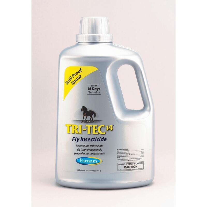 TRITEC 14™ 3,8l, insecticida polivalente de gran persistencia líder en Europa.