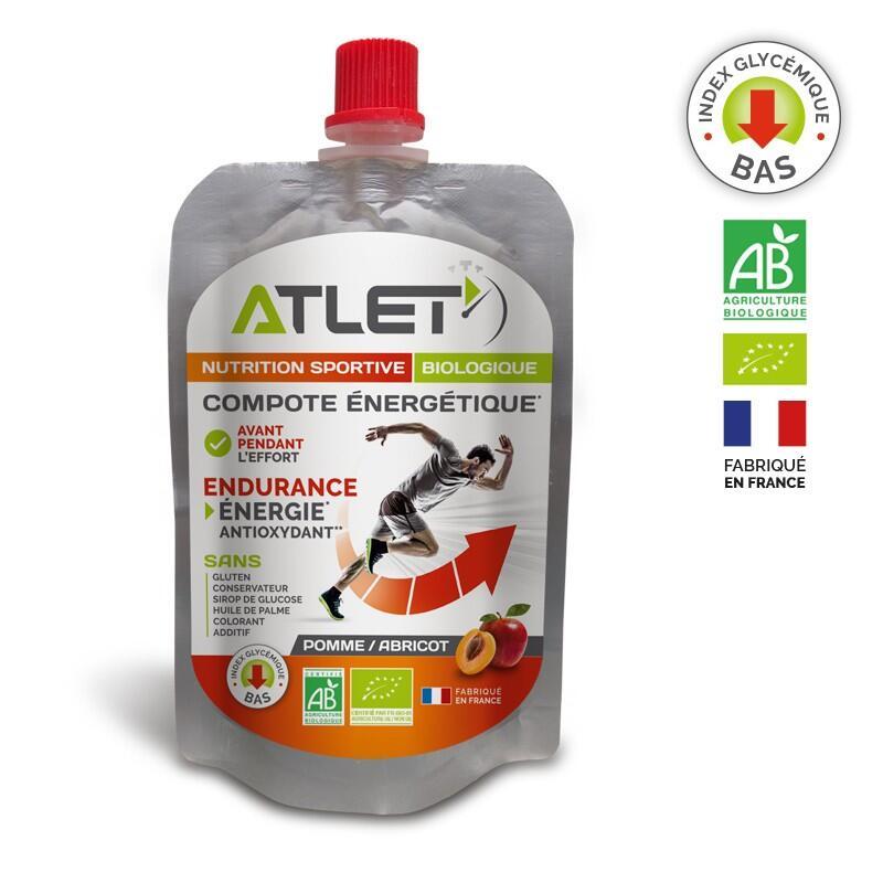 Compote énergétique pomme abricot biologique 100 g
