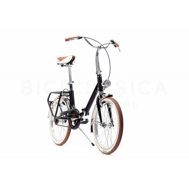 Capri Bambina noir vélo de ville pliable