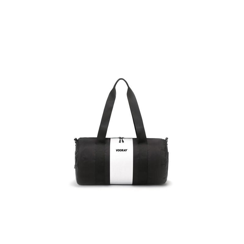 Iconic Duffel - 27,5L -Sac polochon emblématique de sport/voyage(Silver Stripe)