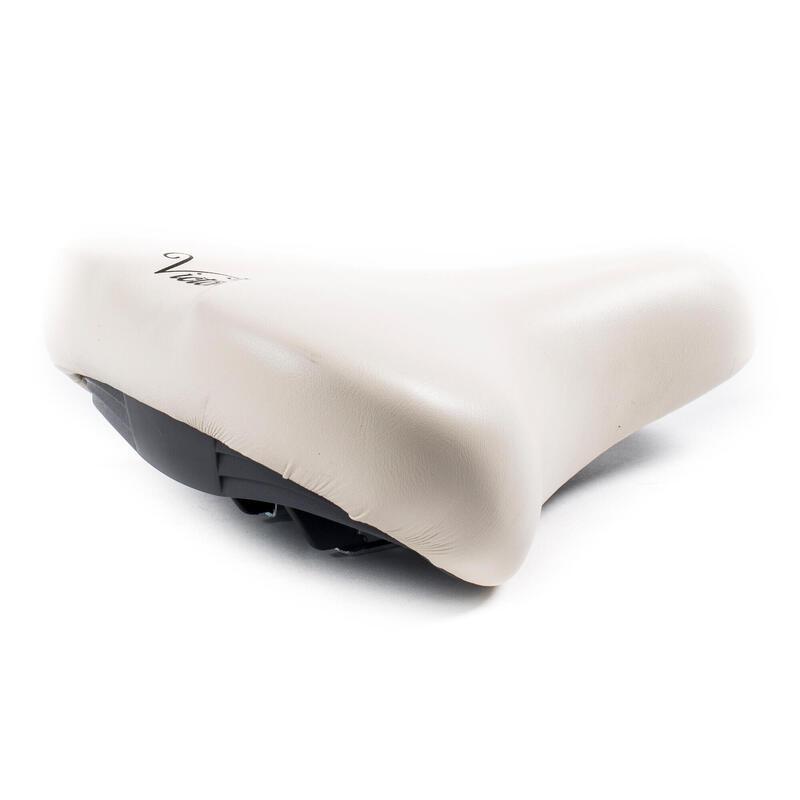 Sillín de bicicleta Victoria - crema