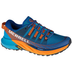 Merrell Agility Peak 4 Trail, Mannen, SPORT, Running shoes, blauw