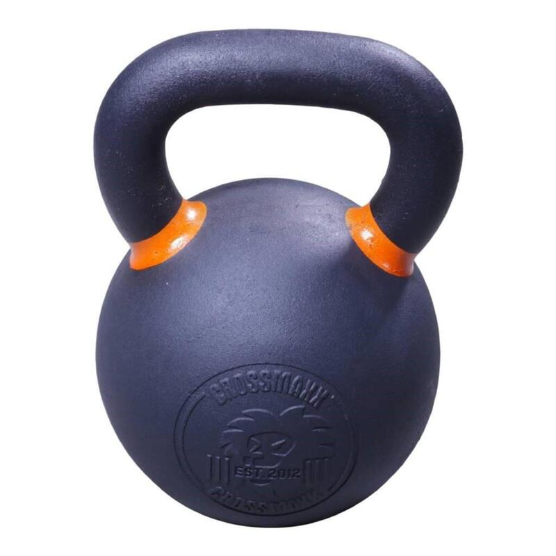 Lifemaxx Crossmaxx Kettlebell - Gietijzer met Poedercoating - 24 kg
