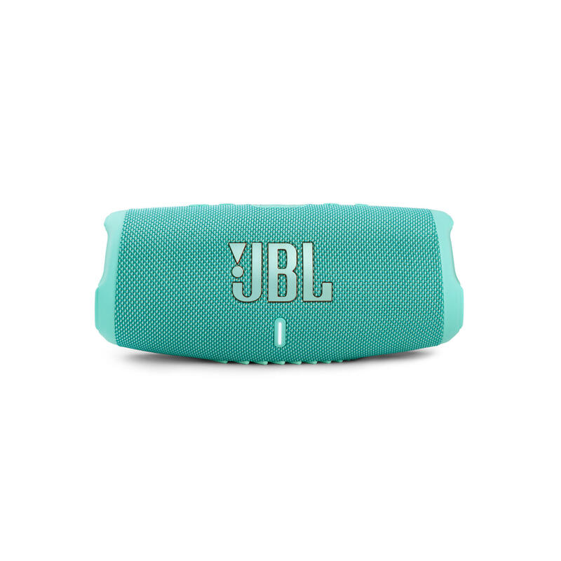 JBL Charge 5 便攜式防水藍牙喇叭 - 湖水綠色