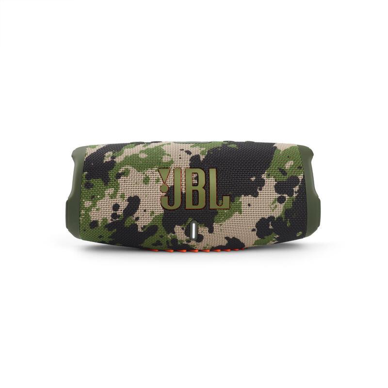 JBL Charge 5 便攜式防水藍牙喇叭 - 迷彩綠色
