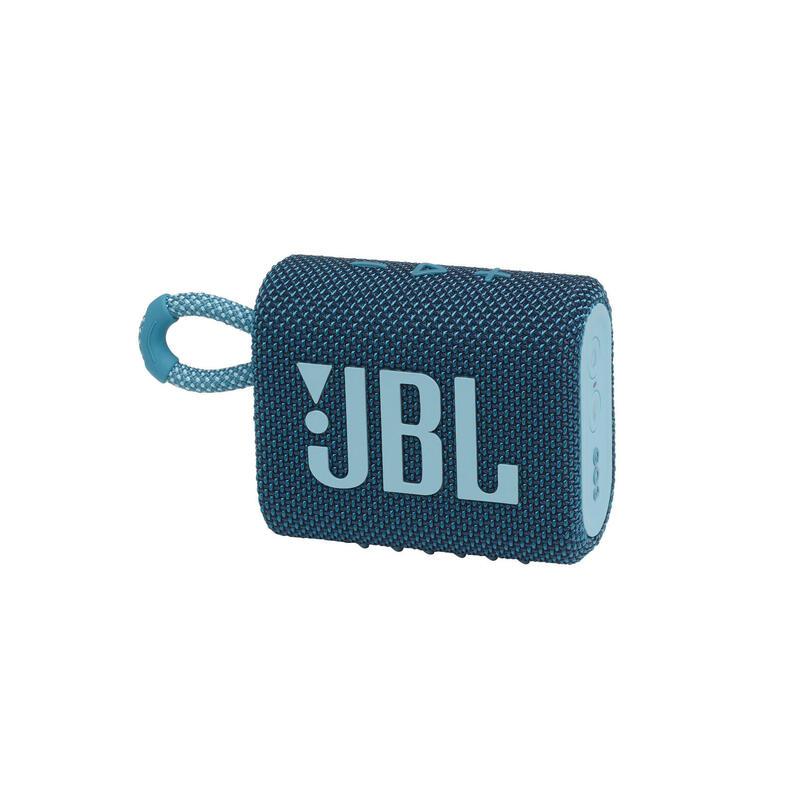 JBL Go 3 迷你防水藍牙喇叭 - 藍色
