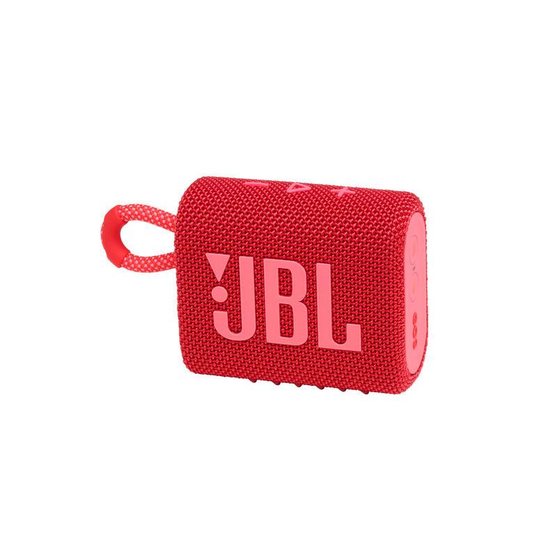 JBL Go 3 迷你防水藍牙喇叭 - 紅色