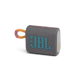 JBL Go 3 Portable Waterproof Speaker - Grey