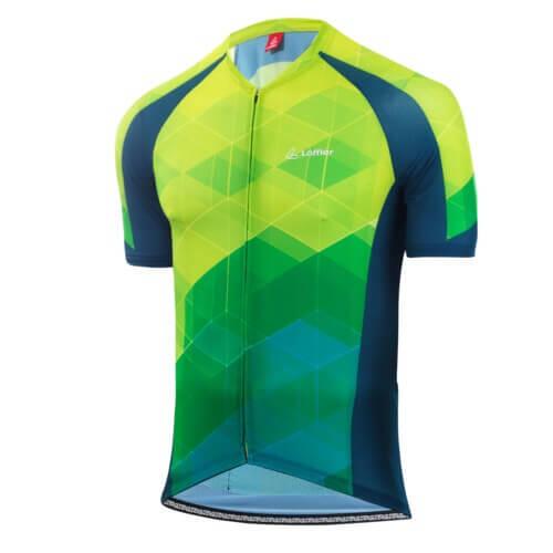 Wielrenshirt korte mouwen M Bike Jersey FZ Aero - Groen