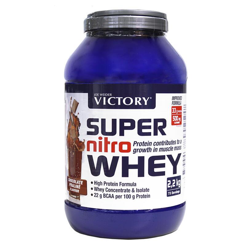 Victory Super Nitro Whey Chocolate-Praliné 2,2 kg