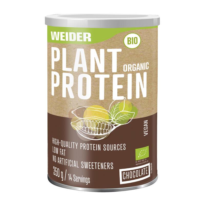 Weider Plant Organic Protein Chocolate 350gr
