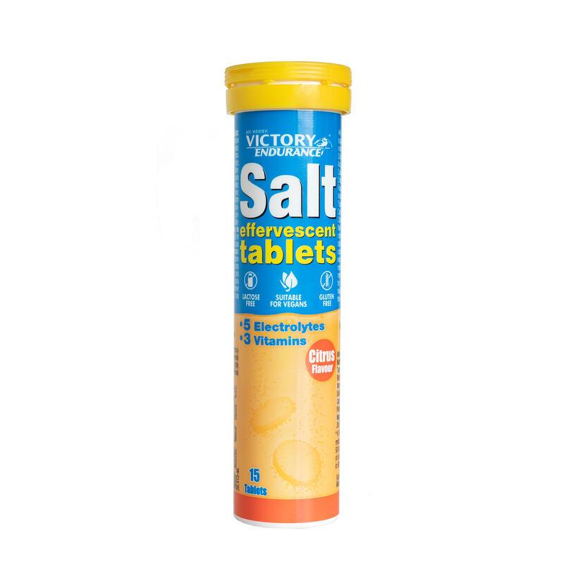 Victory Endurance Salt Effervescent Tabs 15 comprimidos por tubo