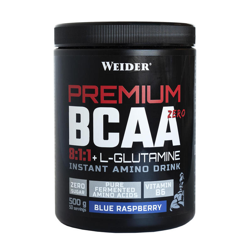 Weider Premium BCAA 8:1:1+L-Gluamina Sabor Blue Raspberry 500g