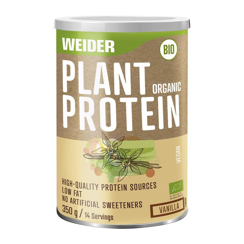 Weider Plant Organic Protein Vainilla 350gr
