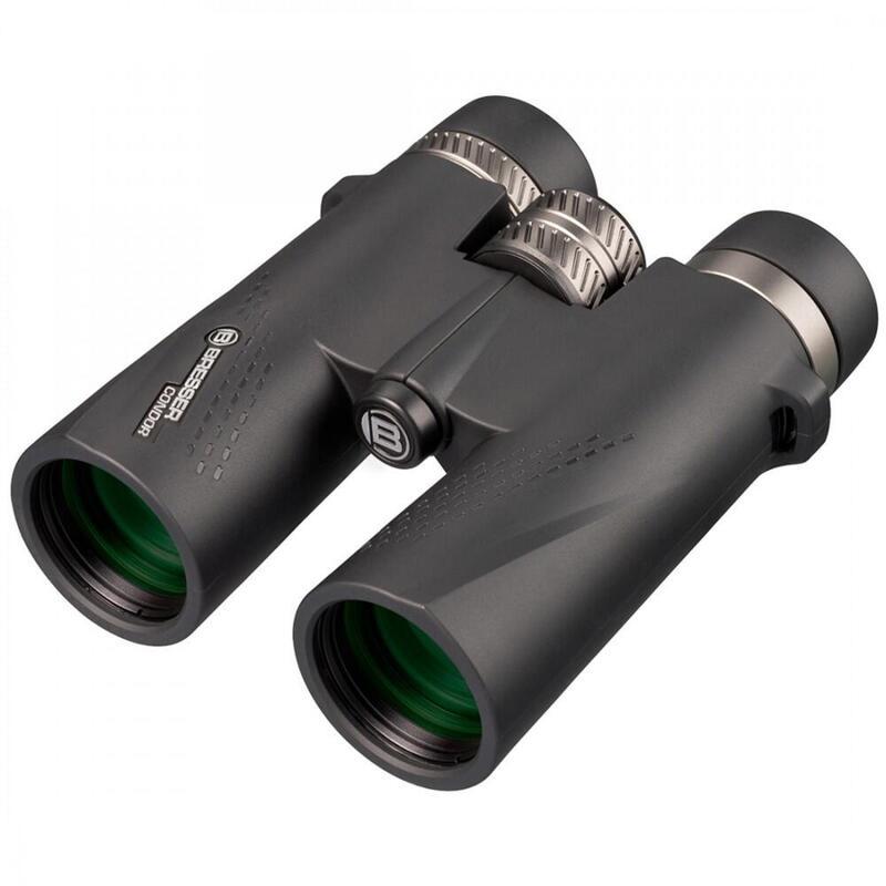 Prismáticos Condor 10X42 para observación de Aves, Senderismo, Caza y Camping