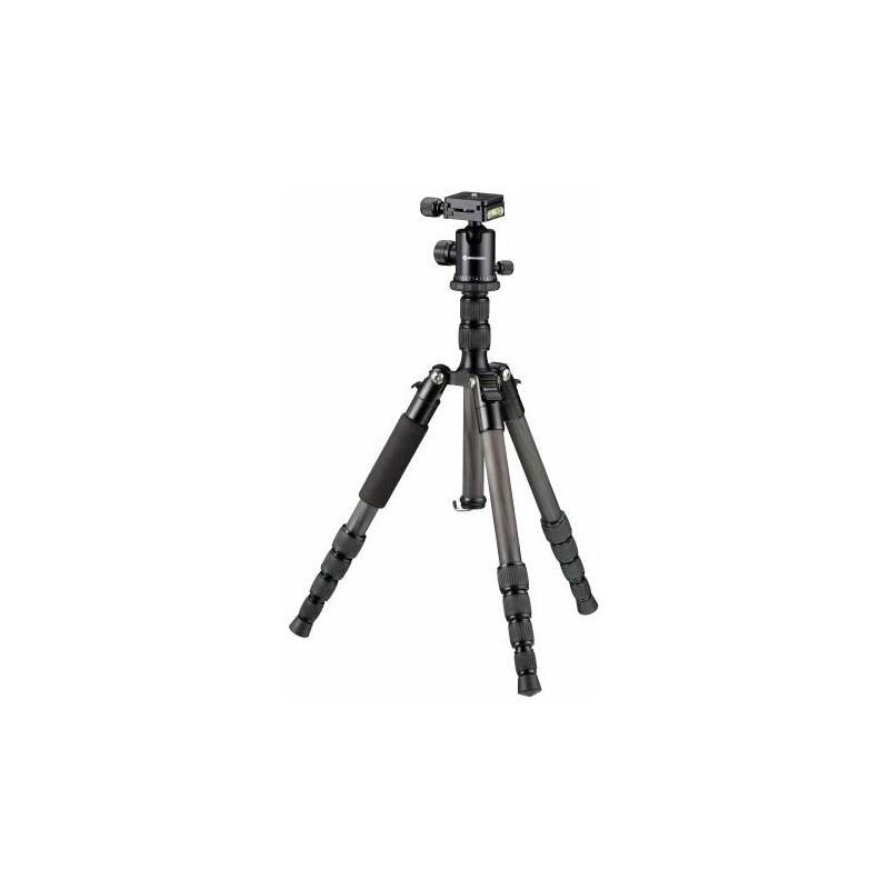 Treppiede BR-2205-N1 Carbon con resistenza fino a 8 kg di fotografia e video