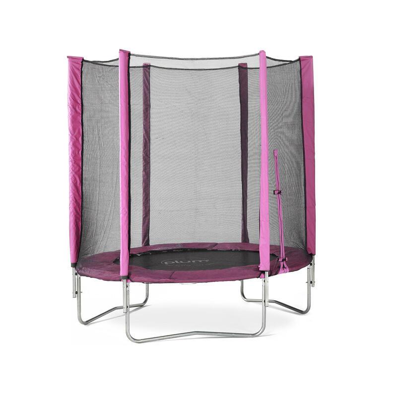 Plum 6ft Junior Trampoline & Enclosure - Pink