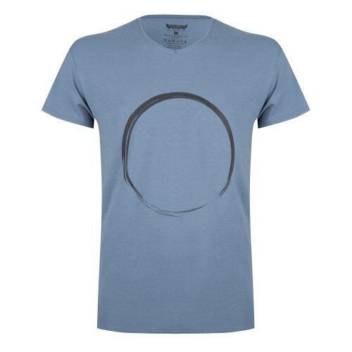 T-shirt Moksha Zen - Col en V à la hanche, doux et confortable -  Green Earth