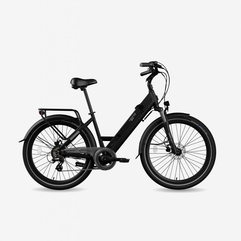 """Vélo de ville électrique Legend Milano 10.4Ah Noir 26"""""""