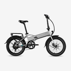 "Bicicletta Pieghevole Elettrica Legend Monza 14Ah Silver 20"""