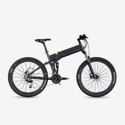 """Vélo VTT électrique pliant Legend Etna 10.4Ah Noir 27,5"""""""