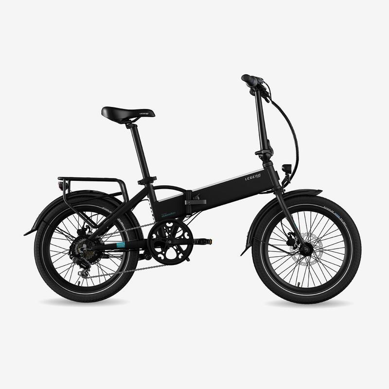 """Vélo pliant à assistance électrique Legend Monza 14Ah Noir 20"""""""