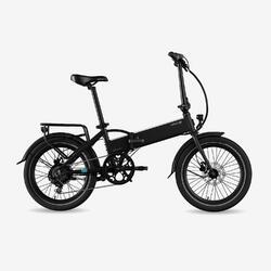 "Bicicletta Pieghevole Elettrica Legend Monza 14Ah Nera 20"""
