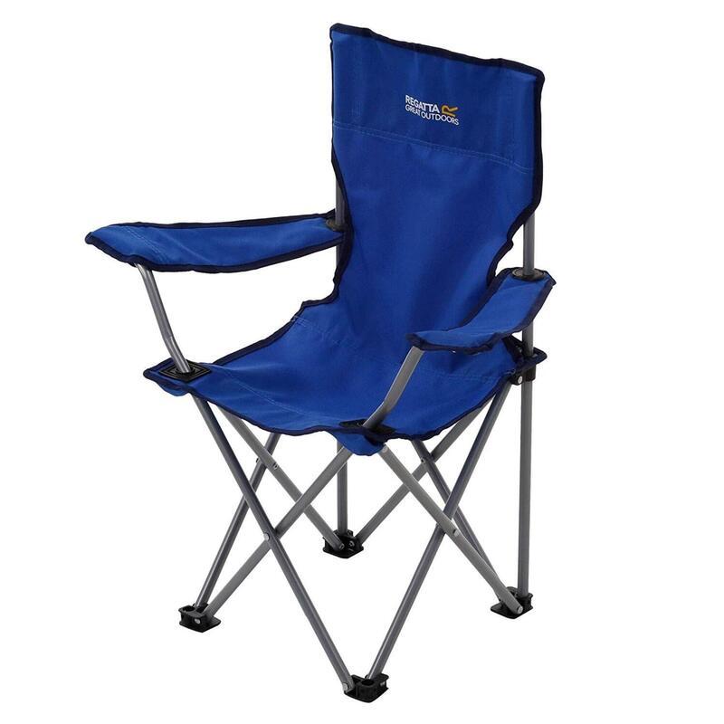Regatta Kids Isla Lightweight Folding Chair Oxford Blue