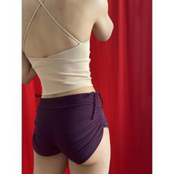Short de Yoga Femme avec Straps