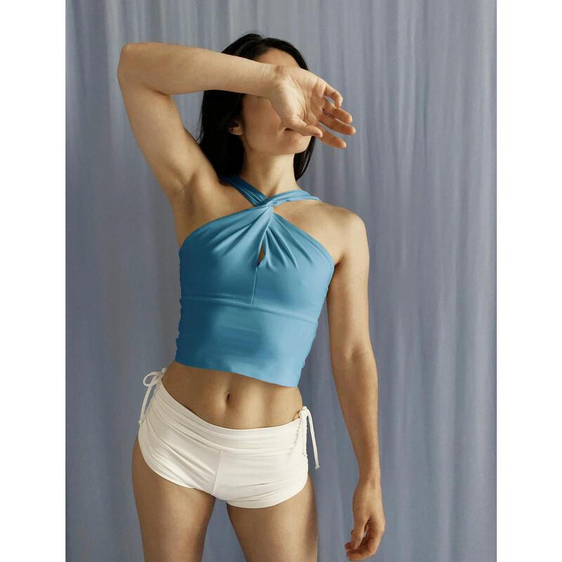 Top Twisté de Yoga pour Femme