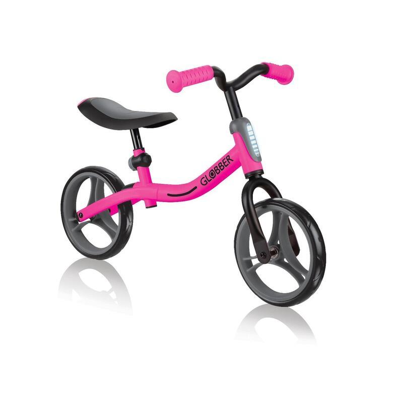 Globber Go Bike Balance Bike - Deep Pink