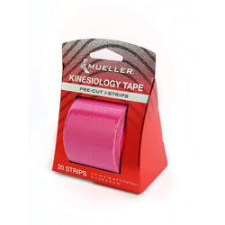 Kinesiology Tape - Pre-Cut I-Strips, Pink (1 roll)