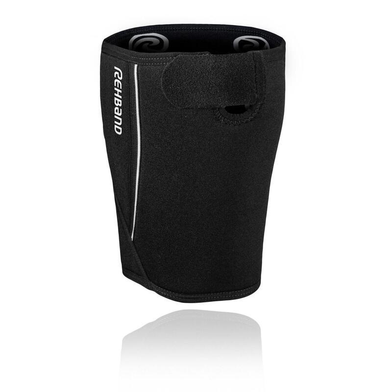 Rehband QD Dijbeenbrace - 5 mm - Zwart - XL