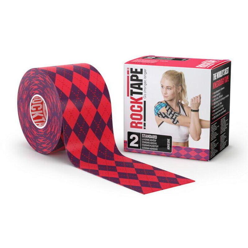 Rocktape Standard, Argyle Pink