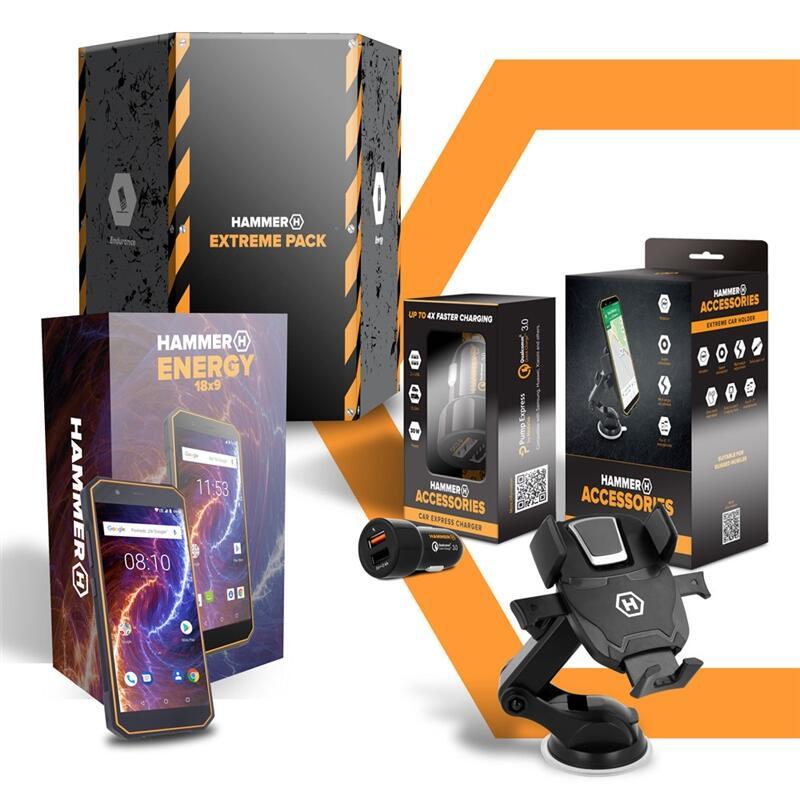 "Hammer Extreme Pack Energy 2 5.5"" 4G 3GB+32GB Black Orange"