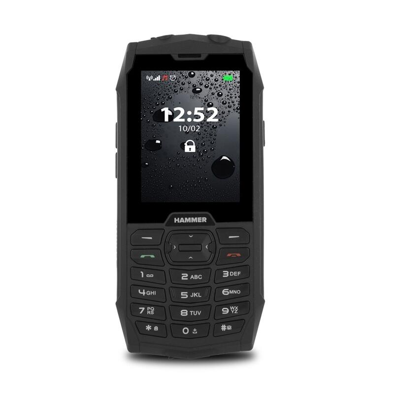 "Hammer 4 2.8"" 2G Dual-Sim Black"