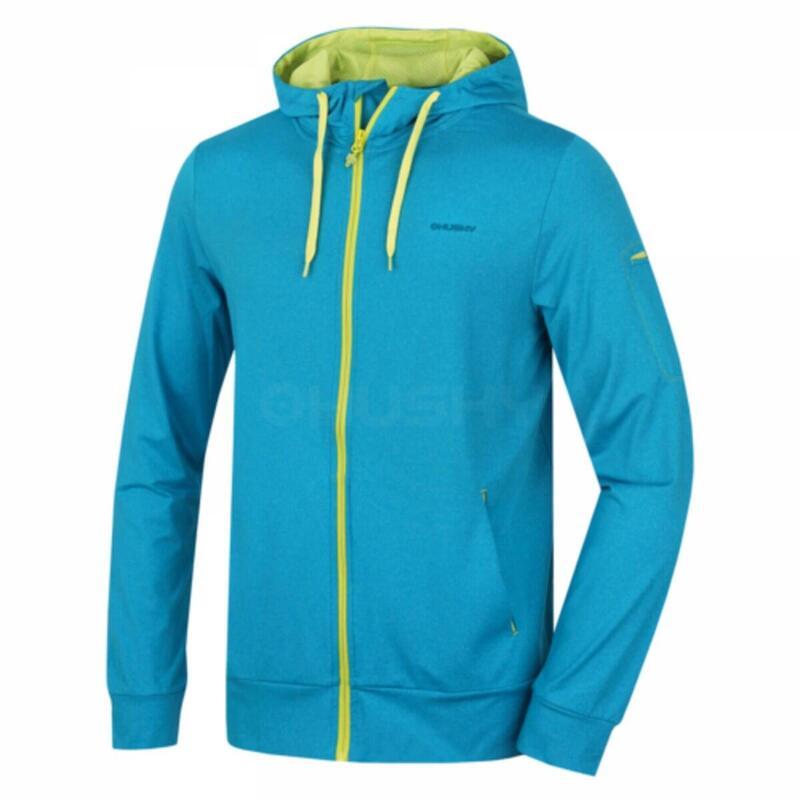 Sweatshirt Alony M met capuchon en rits - Blauw