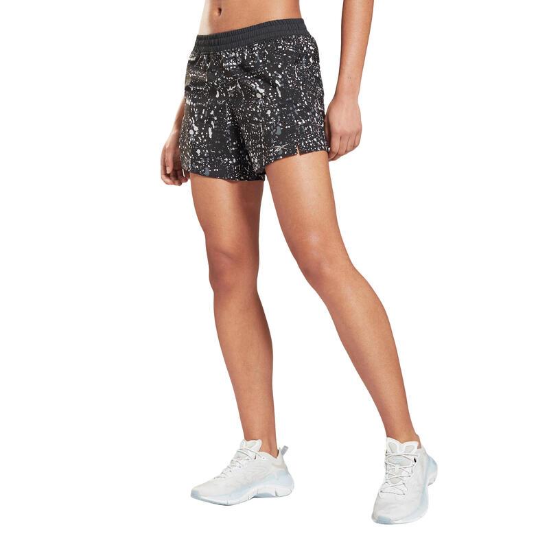 Short imprimé femme Reebok Workout Ready Run