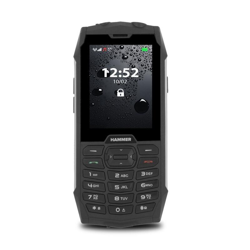 Hammer 4+2.8 pulgadas 3G Dual-Sim Black Silver