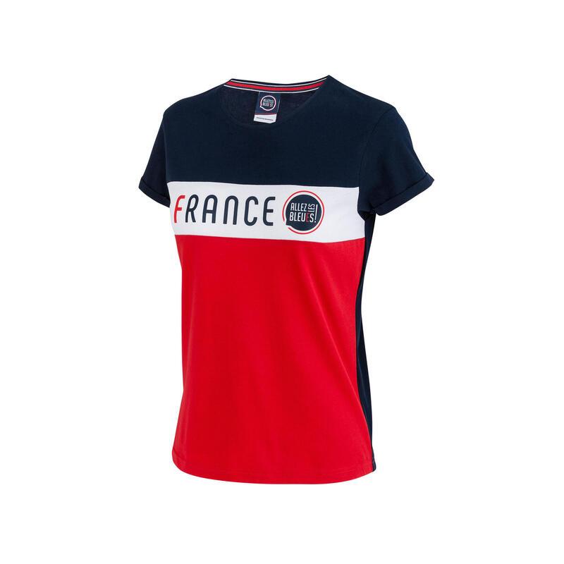 T-shirt France - Collection officielle ALLEZ LES BLEUS - Femme