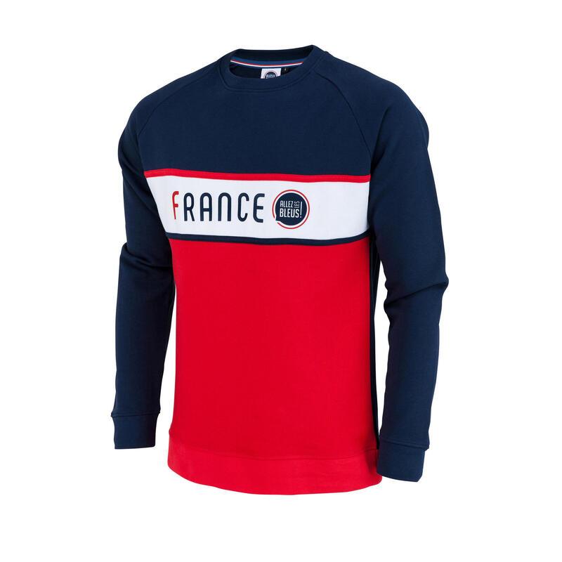 Sweat shirt France - Collection officielle ALLEZ LES BLEUS - Homme