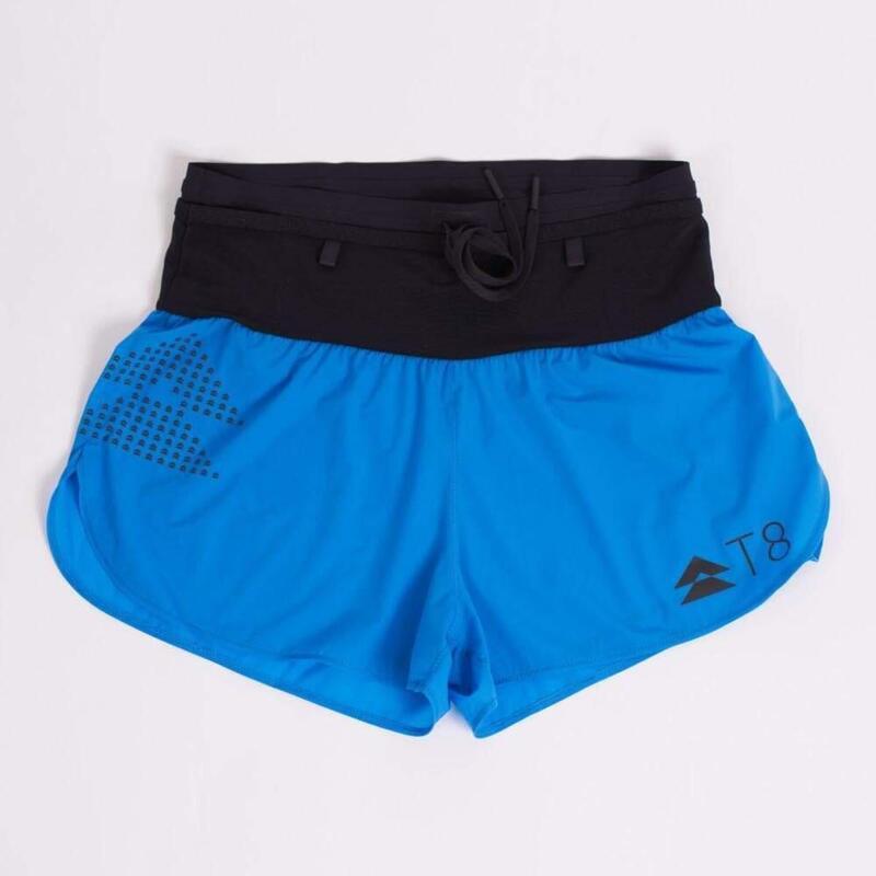 T8 Women's Blue Sherpa Shorts