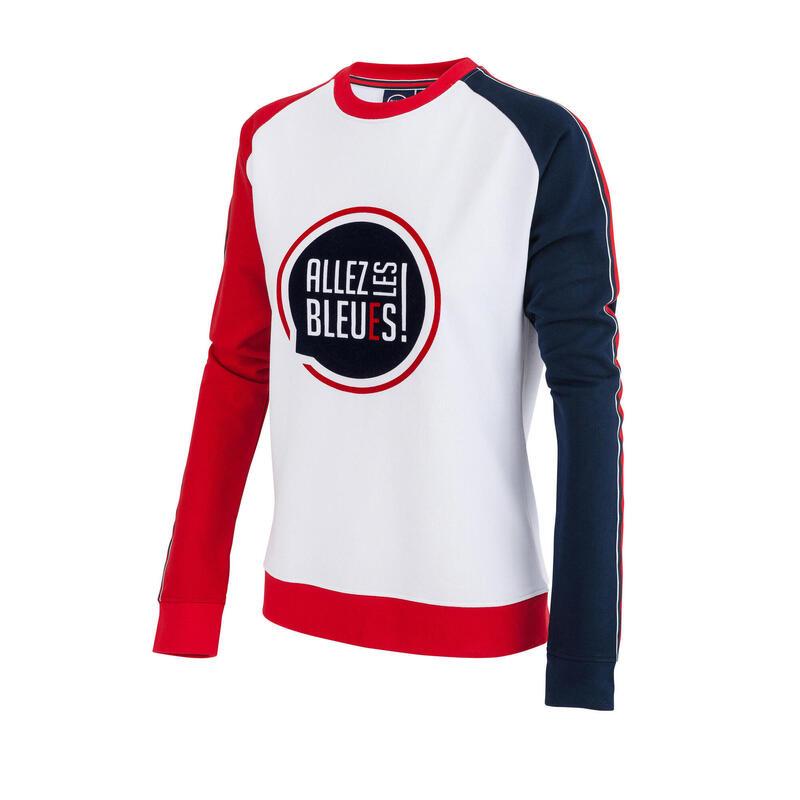 Sweat shirt France - Collection officielle ALLEZ LES BLEUS - Femme