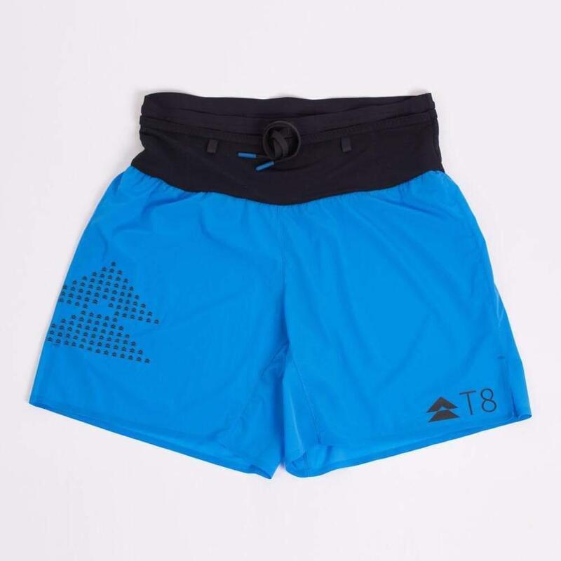 T8 男士藍色運動短褲