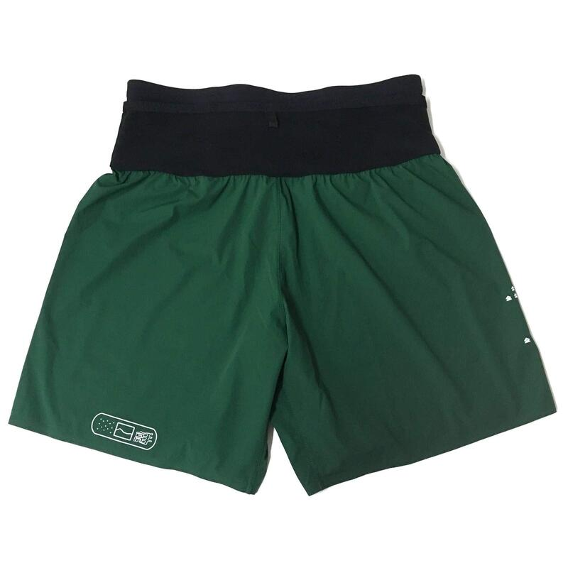 T8 男士綠色運動短褲