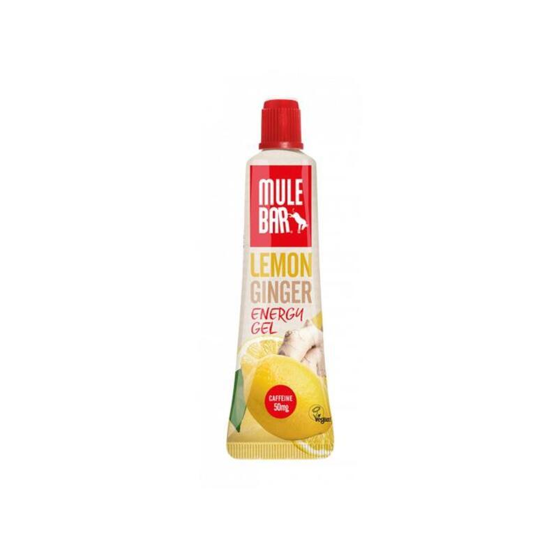 Gel énergétique - Végan - avec bouchon refermable - sans gluten - 37g - Citron