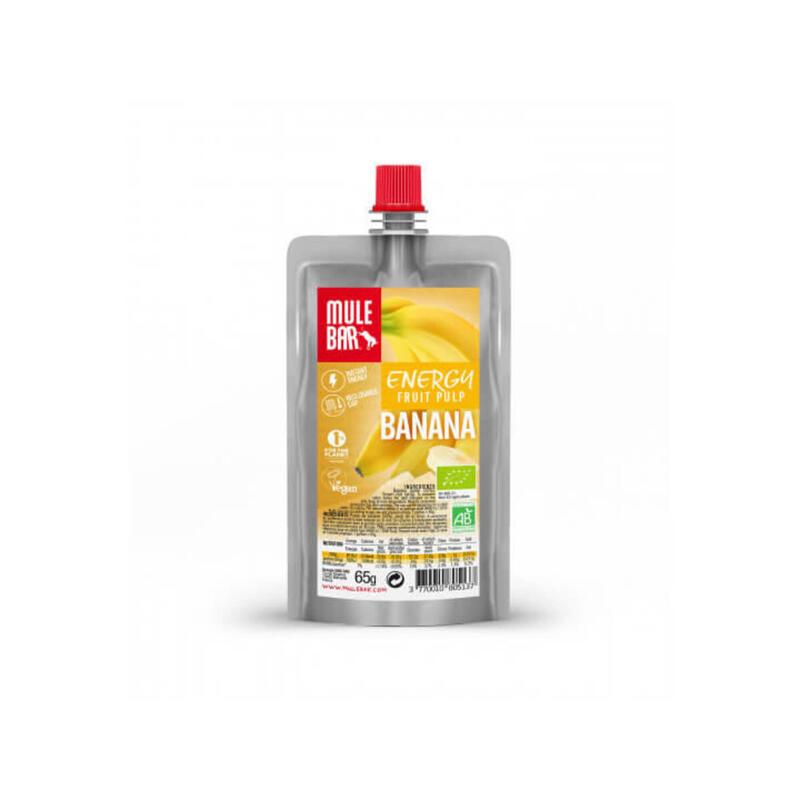 Pulpe de fruits - Bio & Végane - 65g - Banane