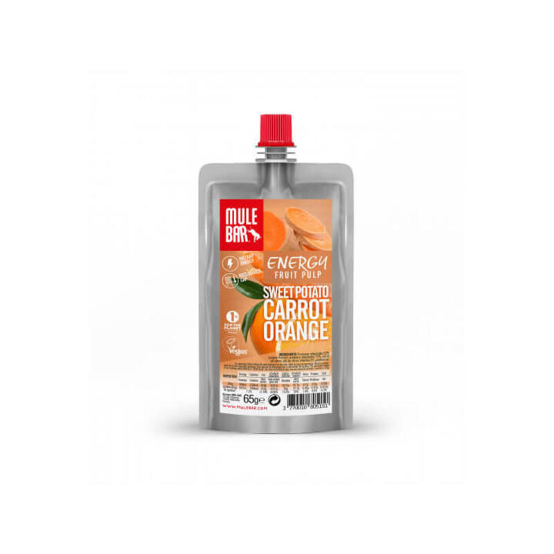 Pulpe de fruits - Végane - 65g - Patate douce / Carotte / Orange