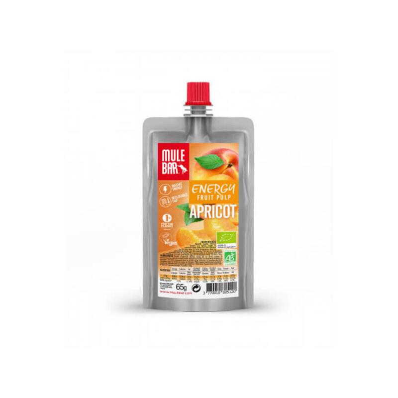 Pulpe de fruits - Bio & Végane - 65g - Abricot